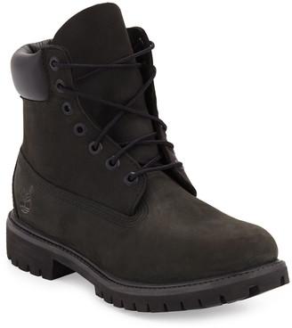 """Timberland 6"""" Premium Waterproof Hiking Boots, Black"""