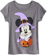 Disney Disney's Minnie Mouse Pumpkin T-Shirt, Little Girls (4-6X)