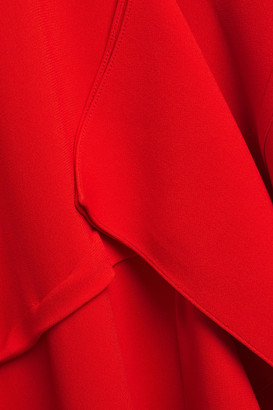 Roland Mouret Draped Crepe Gown