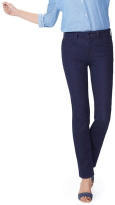 NYDJ Sheri Slim Leg 5-Pocket Jeans - Rinse