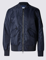 Marks And Spencer Seam Detail Ma-1 Bomber Jacket