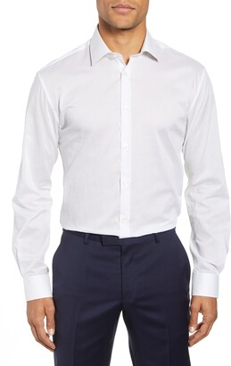John Varvatos Slim Fit Dot Dress Shirt