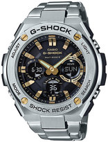 G-Shock G-Steel Black Dial Stainless Steel Bracelet Watch