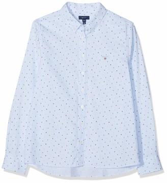 Gant Girls' D1. Letters Striped Shirt Blouse