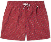 Loro Piana Key West Mid-Length Printed Swim Shorts