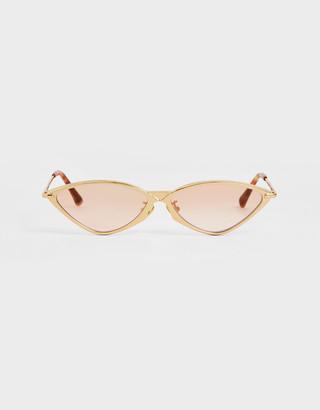 Charles & Keith Metal Frame Cat-Eye Sunglasses