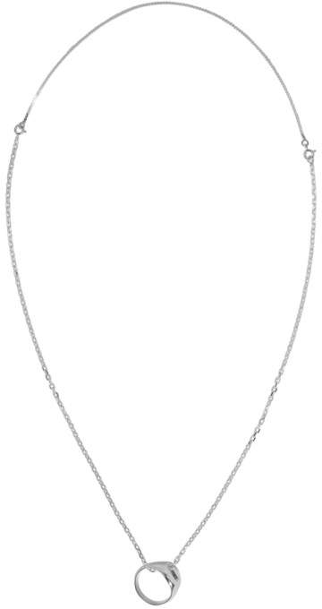 Maison Margiela Silver Ring Necklace