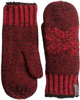 Woolrich Snowfall Valley Mittens - Chenille Fleece Lined (For Women)