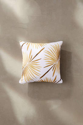 Deny Designs Cat Coquillette For Deny Tropical Fan Palm Outdoor Throw Pillow