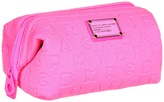 Marc by Marc Jacobs Dreamy Logo Neoprene Framed Big Bliz (Fluoro Fuchsia) - Bags and Luggage