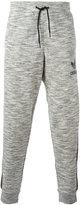 adidas side stripe track pants - men - Cotton/Polyester - L