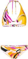 Emilio Pucci printed bikini set - women - Polyamide/Spandex/Elastane - 38