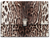 Proenza Schouler Lunch Bag Large Pony Hair Clutch