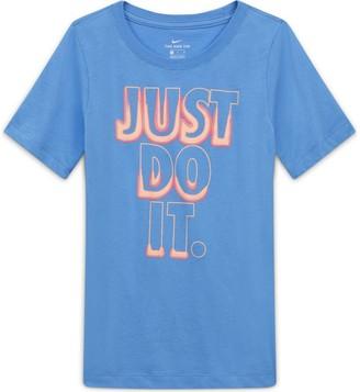 Nike Boys 8-20 Just Do It Glow-in-the-Dark Tee