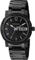 Wittnauer Men's WN3050 22mm Stainless Steel Bracelet Watch