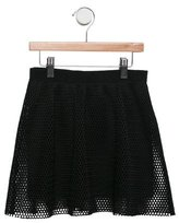 Milly Minis Girls' Mesh Circle Skirt