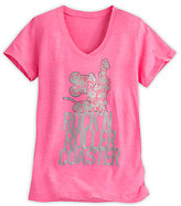 Disney Mickey Mouse Rock 'n Roller Coaster Tee for Women
