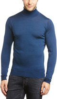 John Smedley Men's Merino Wool Roll Neck Belvoir Jumper XXL