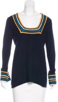 Tory Burch Cashmere Bell Sleeve Sweater