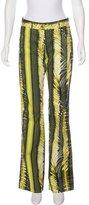 Roberto Cavalli Mid-Rise Flared Pants