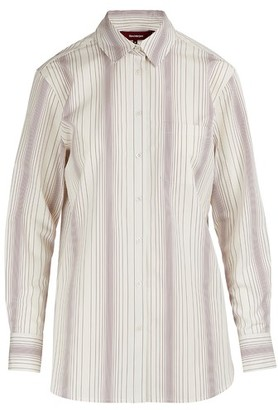 Sies Marjan Sander striped shirt