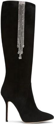 Alexis Isabel Clarissa Black Suede Boots