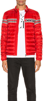 Moncler Renald Jacket in Red | FWRD