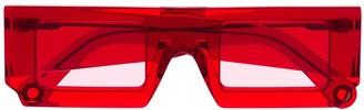 Jacquemus Soleil squared-frame sunglasses