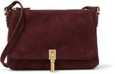 Elizabeth and James Cynnie suede shoulder bag