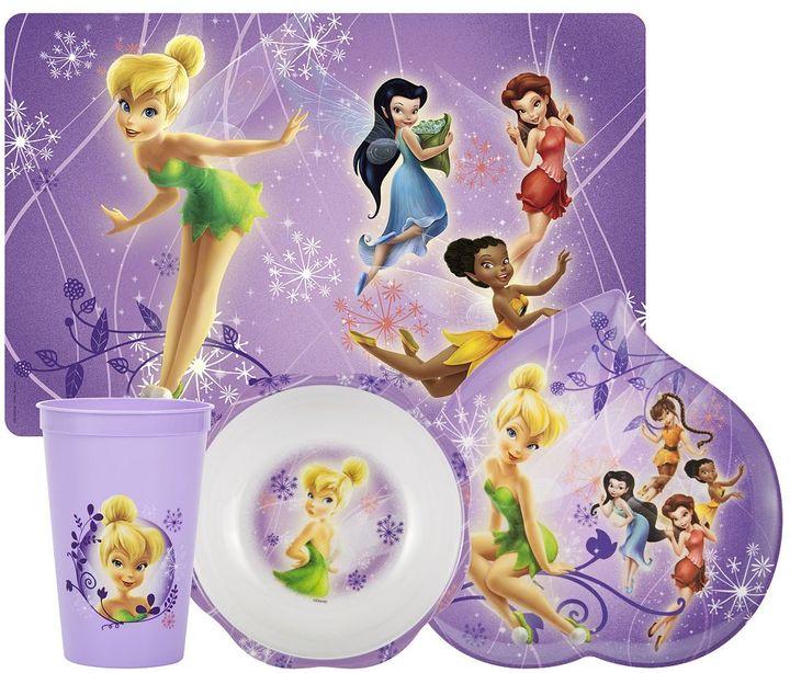 Zak Designs Disney fairies 4-pc. mealtime set