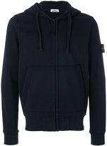Stone Island zip hoodie - men - Cotton - S