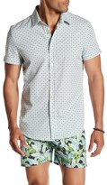 Parke & Ronen Printed Short Sleeve Regular Fit Shirt
