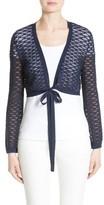 Lafayette 148 New York Women's Knit Lace Shrug