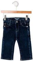 Armani Junior Boys' Five Pocket Straight-Leg Jeans