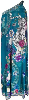 Camilla Luna Gazing Single Sleeve maxi dress
