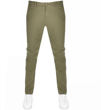Levi's Levis Slim Taper Chinos Green