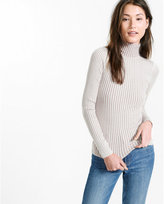 Express plaited turtleneck sweater