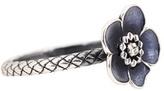 Bottega Veneta Embellished Silver Ring