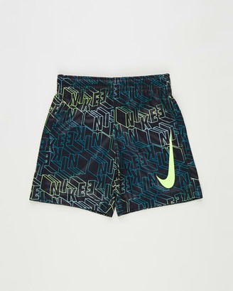 Nike Boy's Black Shorts - Laser Letters Shorts - Kids - Size 6 YRS at The Iconic