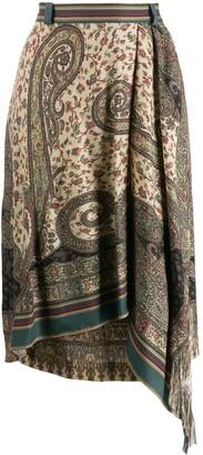 Etro Paisley Print Skirt