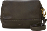 Liebeskind Berlin Syracuse Milano Leather Shoulder Bag, Olive Green