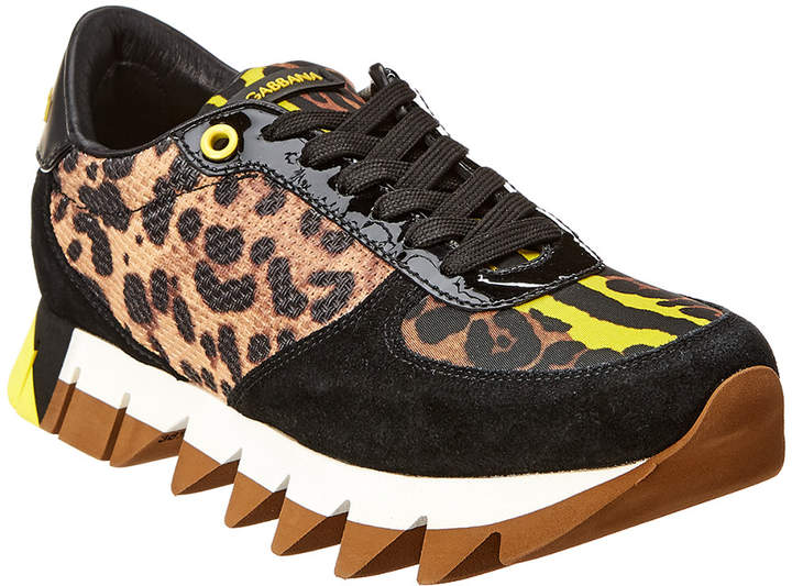 Dolce & Gabbana Capri Suede Sneaker