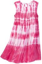 Design History Sleeveless Tie Dye Dress (Toddler & Little Girls)