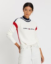 Tommy Jeans Colourblock Logo Sweater