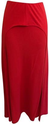 Calvin Klein Red Skirt for Women