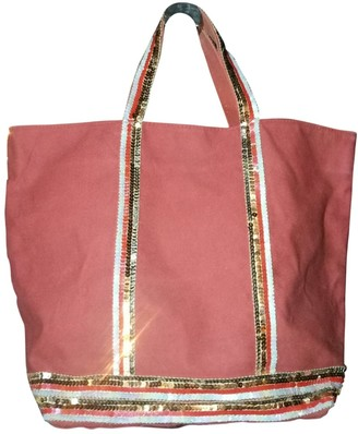 Vanessa Bruno Cabas Red Cotton Handbags