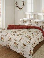M&Co Wild deer brushed cotton duvet set
