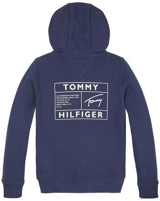 Tommy Hilfiger Cotton Zip-Up Hoodie, 10-16 Years