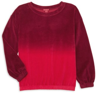 Splendid Girl's Velour Top