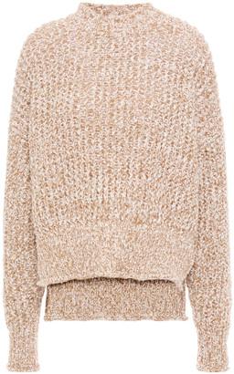 Jil Sander Marled Ribbed-knit Sweater